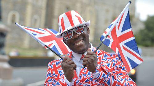 Royal fans have descended on Windsor.