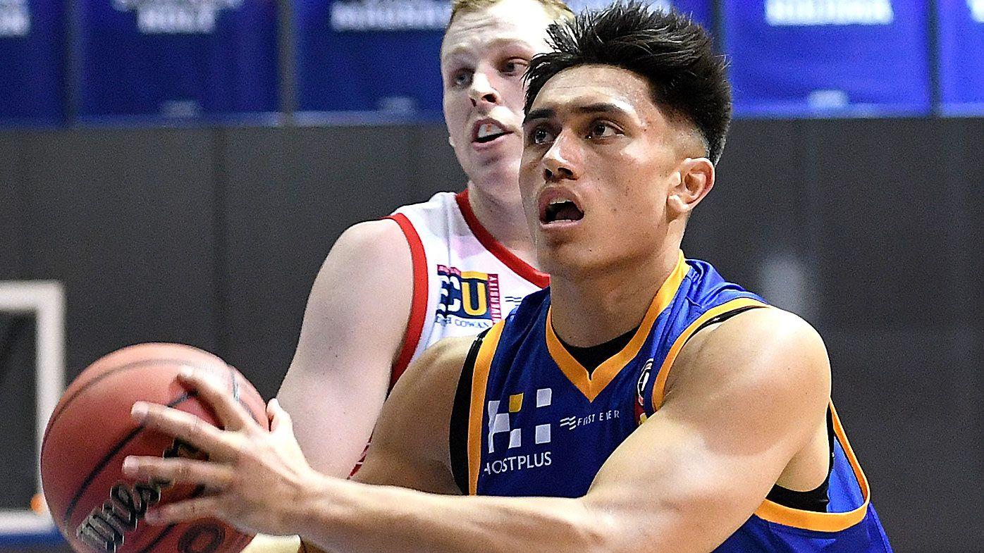 Clutch Reuben Te Rangi triple hands Brisbane Bullets upset win over Perth Wildcats