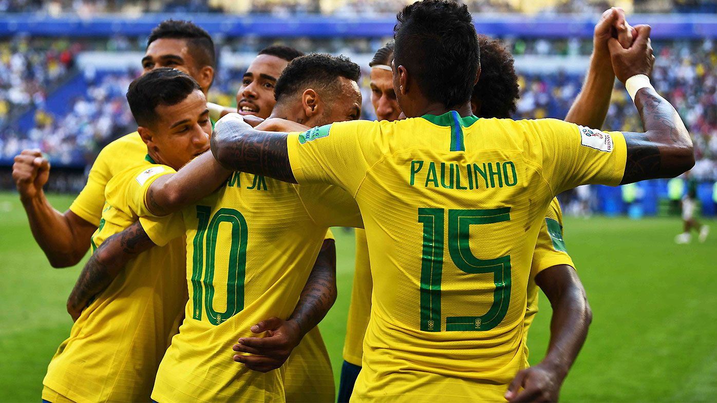 Firmino says Brazil's elimination a 'huge blow'