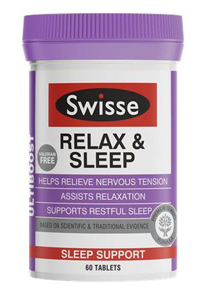 """<p>Sure you're having the time of your life. But if you want to parent effectively you need to rest and well. Try these supplements to make restful sleep that bit easier.</p> <p><a href=""""https://swisse.com/en-au/products/vitamins-supplements/sleep-mood/swisse-ultiboost-relax-sleep"""" target=""""_blank"""">Swisse Ultiboost Relax & Sleep Tablets, $29.95.</a></p>"""