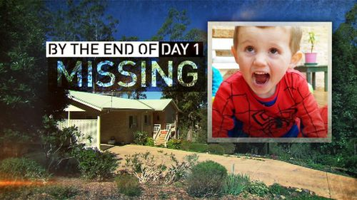 William declared missing after day one. (9NEWS)