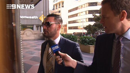Mr Mehajer did not comment outside court today. (9NEWS)