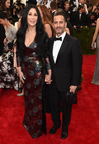 <p>The images were shot by David Sims and show Cher in a floor-length black dress with her usually sleek waterfall of hair slightly teased, harking back to her '70s look. To mark the occasion, we explore her best looks through the years. There's a lot of them.</p><br /><div>&nbsp;</div>