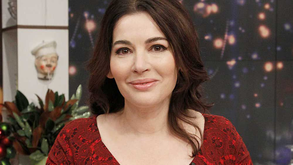 Celebrity and cookbook author Nigella Lawson