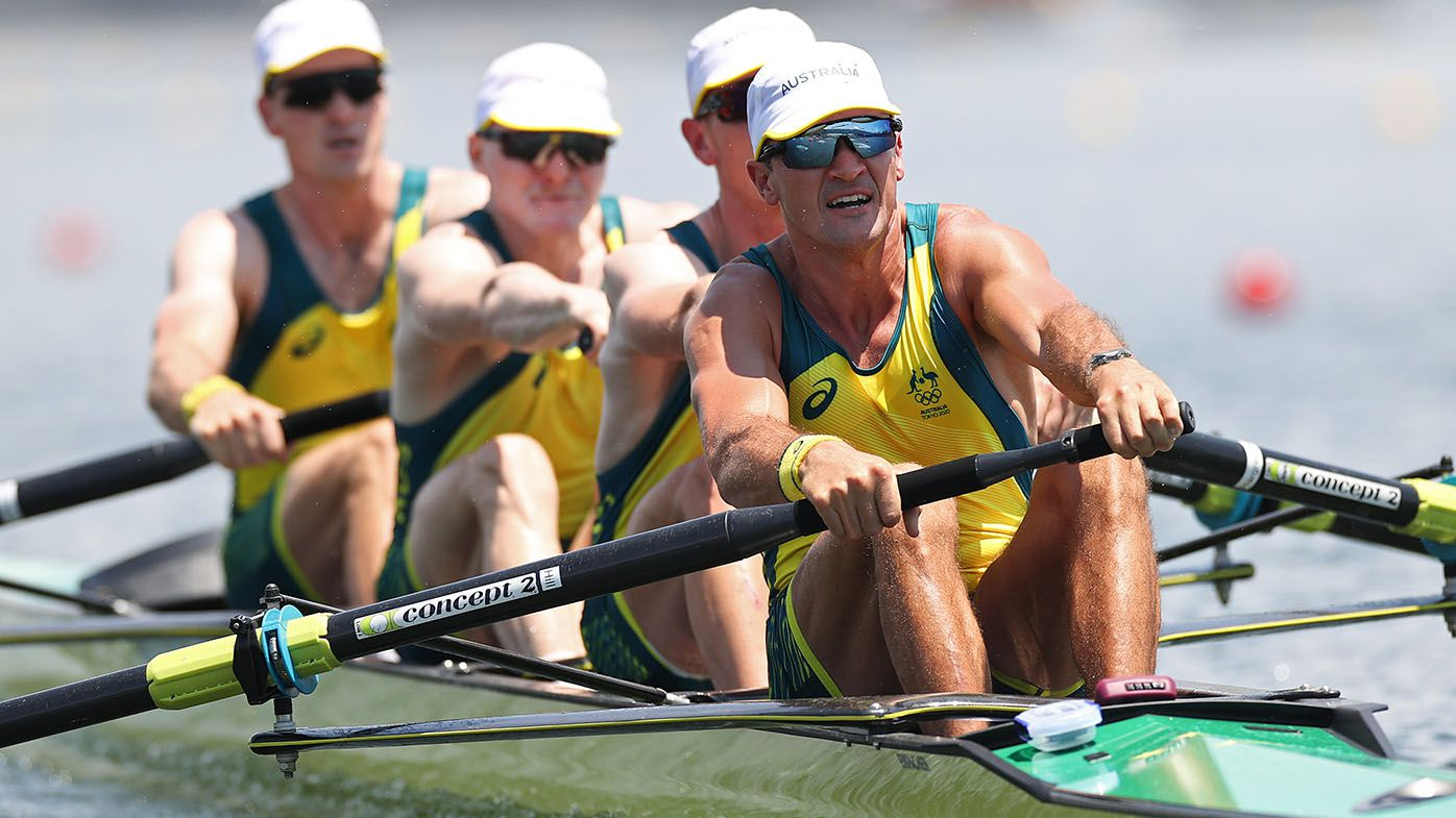 Oarsome golden double for Aussie fours teams