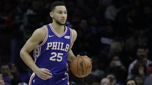 Melbourne-born NBA superstar Ben Simmons plays for the Philadelphia 76ers.