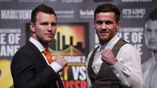 WBO welterweight champion Jeff Horn will take on English challenger Gary Corcoran in December. (AAP)
