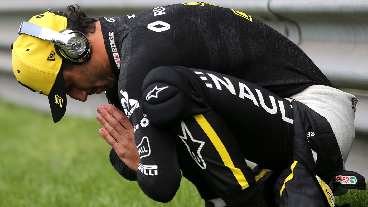 Daniel Ricciardo's sad new reality highlighted by seventh at F1 Chinese Grand Prix