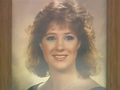 Traci Crozier was in her car when it was set alight by her boyfriend Lee Hall in 1991, a jury found him guilty of her murder.
