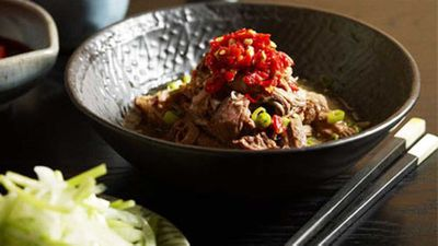 Neil Perry: Shredded lamb shoulder with salted chilli