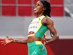 Sprinting champion's historic Olympics first