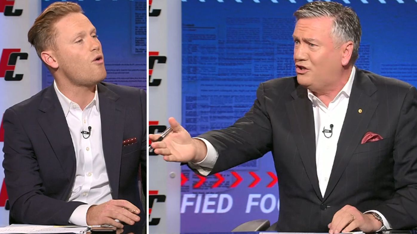 Sam McClure and Eddie McGuire lock horns over Collingwood's list management 'debacle'