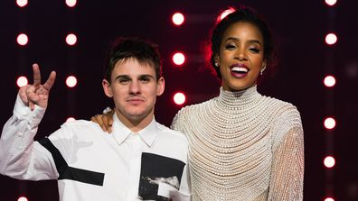 Sam Perry and Kelly Rowland