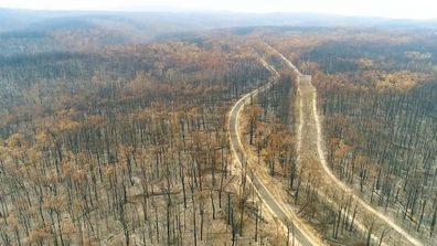 Scenes of the aftermath following the destructive East Gippsland fires.