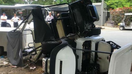 Brake failure caused Hamilton Island buggy crash that injured nine