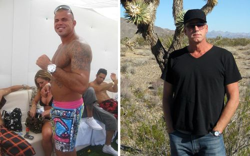 Owen Hanson (left) came from a well-to-do affluent family yet still turned to crime, making millions in an international drug smuggling operation and illegal gambling racket. (Supplied)