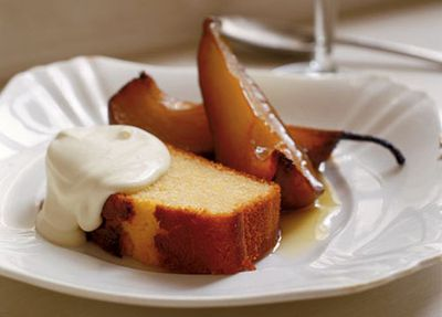"""<a href=""""http://kitchen.nine.com.au/2016/05/19/15/17/neil-perry-olive-oil-and-sauternes-cake-with-roast-pears"""" target=""""_top"""">Neil Perry's olive oil and sauternes cake with roast pears</a>"""