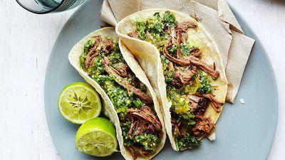 "<a href=""http://kitchen.nine.com.au/2016/05/16/11/18/brisket-tortillas-with-green-chilli-tomatillo-and-cucumber-salsa"" target=""_top"">Brisket tortillas with green chilli, tomatillo and cucumber salsa</a>"