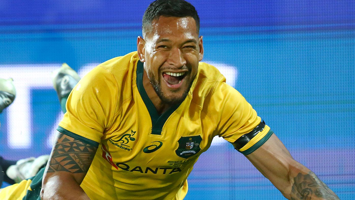Australia full-back Israel Folau signs new four-year deal with the Waratahs