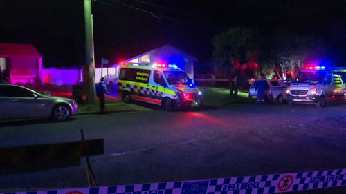 Mr Tokcan was worked on by police and paramedics at the scene, before being taken to Westmead Hospital where he later died. (9NEWS)