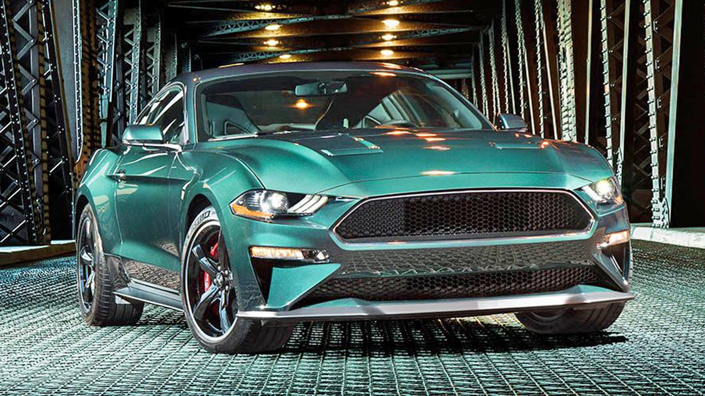 Ford the 2019 ford mustang