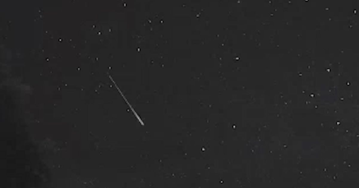 'Impressive' meteor over Canberra teases 'spectacular' show to come – 9News