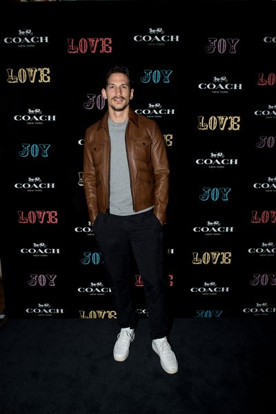 Jarryd Scott at the Coach launch, Sydney.