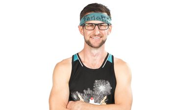 Nathan Burley competing on Australian Ninja Warrior 2020.