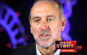 Hillsong Church founder Brian Houston relives the moment he found out about his father's criminal past