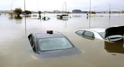 US states left floating after flooding rains