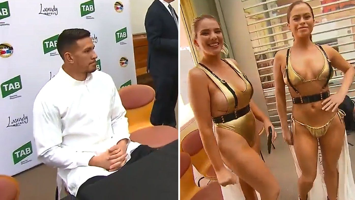 SBW and the ring girls