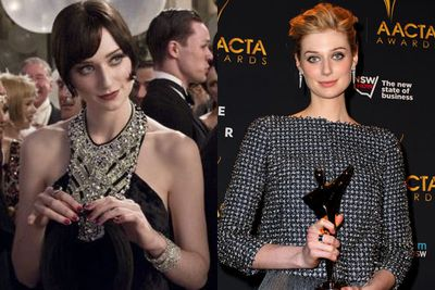 Dubbed the next Cate Blanchett due to her elegant demeanour and willowy frame, Elizabeth stunned us all with her performance in <i>The Great Gatsby</i>. But is Hollywood really her scene right now or will she rise there in time with theatre and the arts like Cate did? With an AACTA Award already under her belt for <i>Gatsby</I>, she can do whatever the hell she wants.<br/><br/>Left: <i>The Great Gatsby</i> / Warner Bros. Right: Elizabeth at the AACTA Awards 2014 / Getty.
