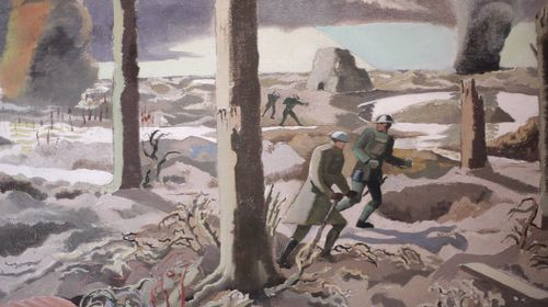 The collection will also feature several works of art inspired by events during WW1. (IWM)