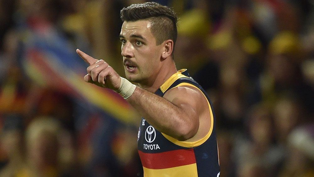 Adelaide Crows captain Taylor Walk.