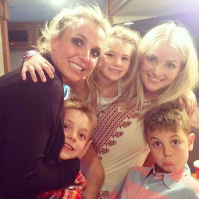 Britney Spears, Jamie Lynn Spears, selfie, family