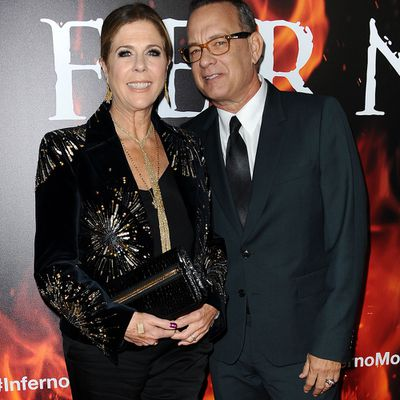 Tom Hanks, 60, and Rita Wilson, 60: Married 28 years