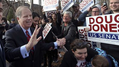 Democrats claim stunning win in Alabama US Senate race
