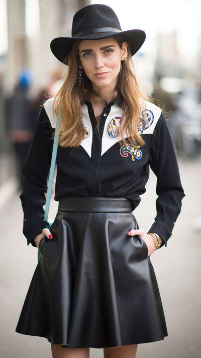 <p>Blogger Chiara Ferragni</p>