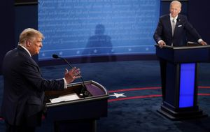 Trump v Biden debate as it happened: First clash descends into chaos