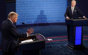 Trump v Biden debate live: 'Will you shut up, man' - First clash starts with fiery exchange