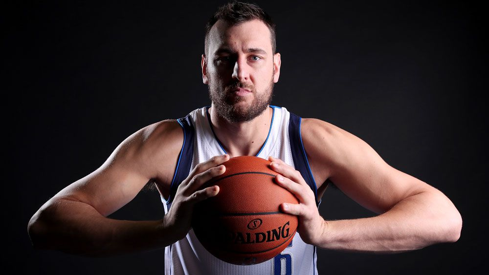 Andrew Bogut.(Getty)