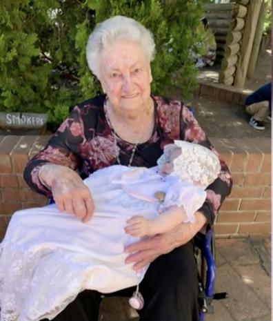 Ms Payne's 89-year-old mother has coronavirus.