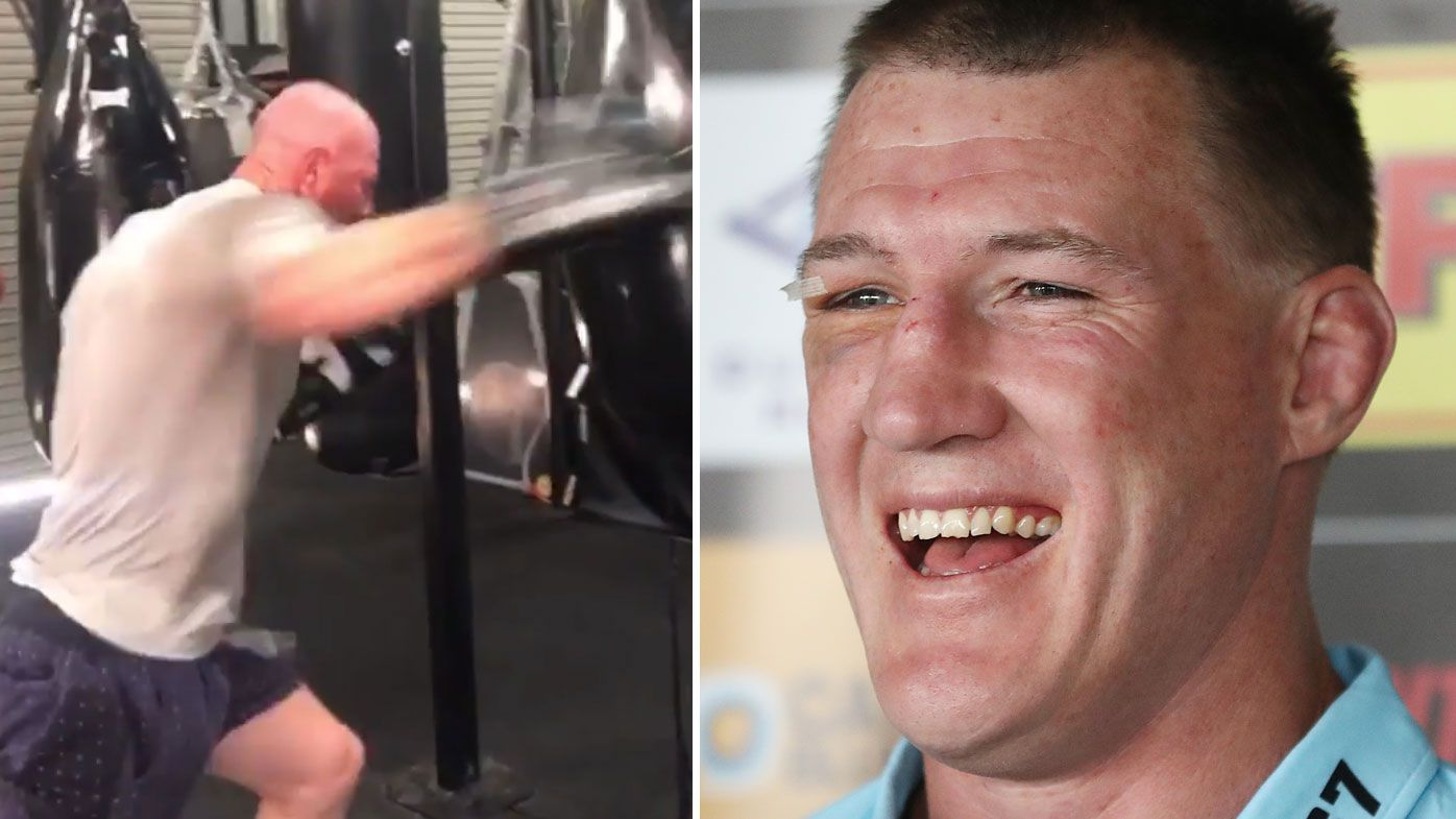 Paul Gallen gives Barry Hall hilarious new nickname ahead of fight