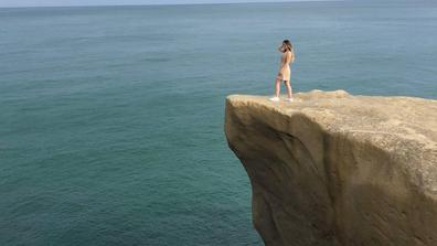 Dunedin Tunnel Beach Instagram cliff