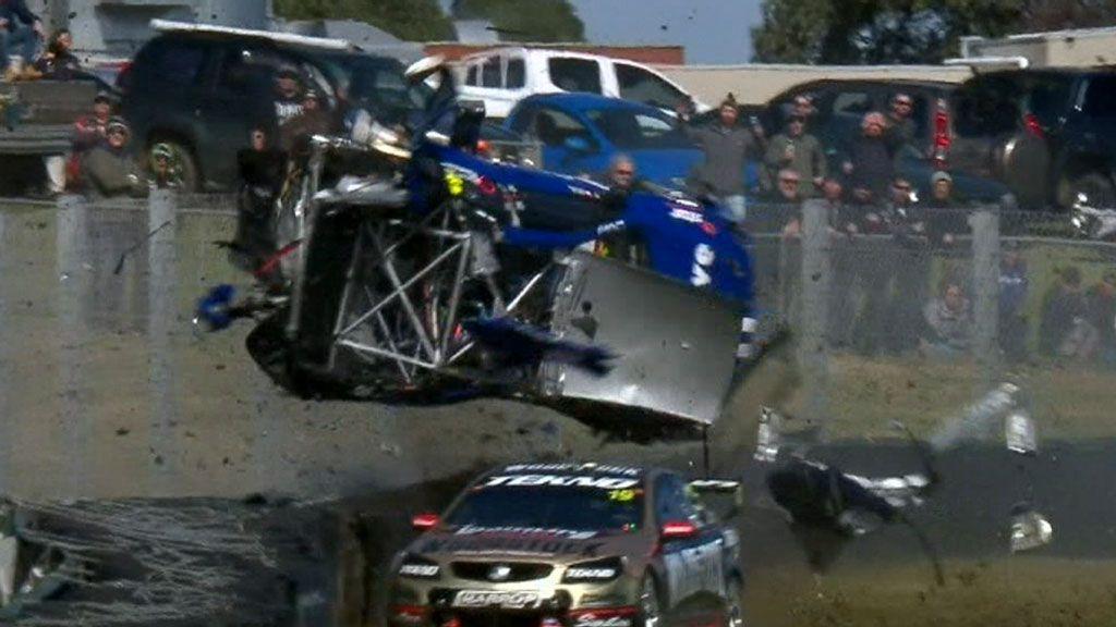 Hazelwood discusses horror crash