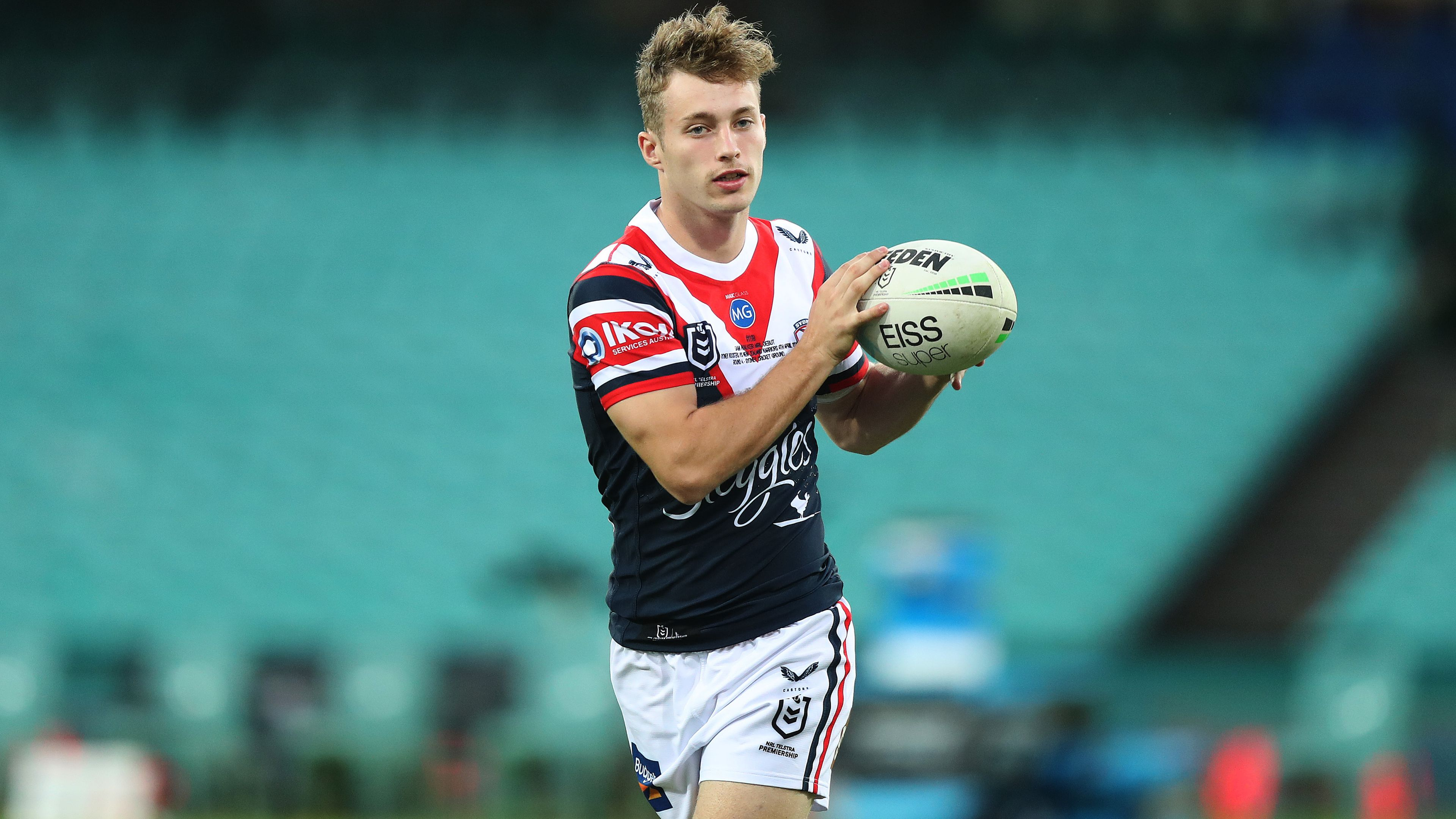 Sam Walker's praise for Sydney Roosters coach Trent Robinson after incredible NRL debut