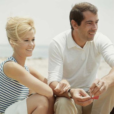 Jane Fonda and Roger Vadim in 1965.