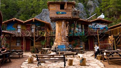 Kadir's Tree House, Olympos, Turkey
