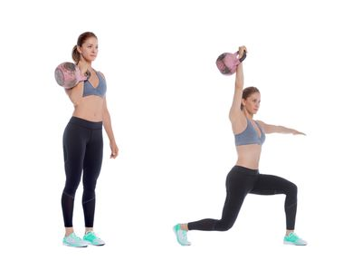 <strong>Overhead lunge</strong>