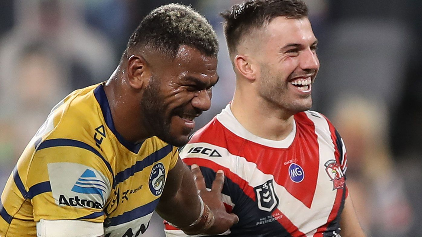 James Tedesco head knock in Maika Sivo clash gives Sydney Roosters a scare